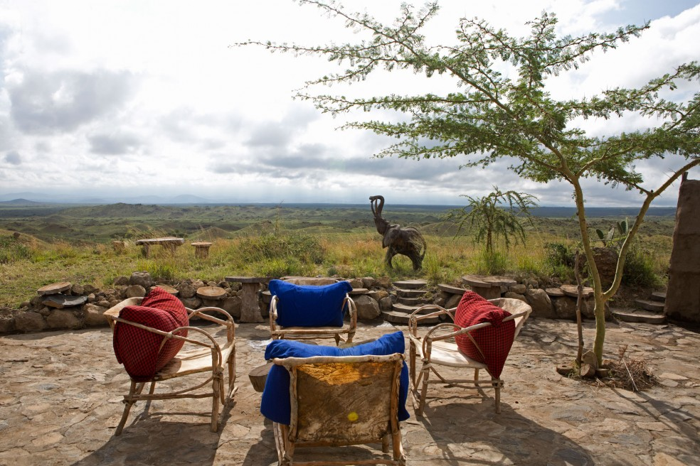 A Maasai Lodge in Tanzania