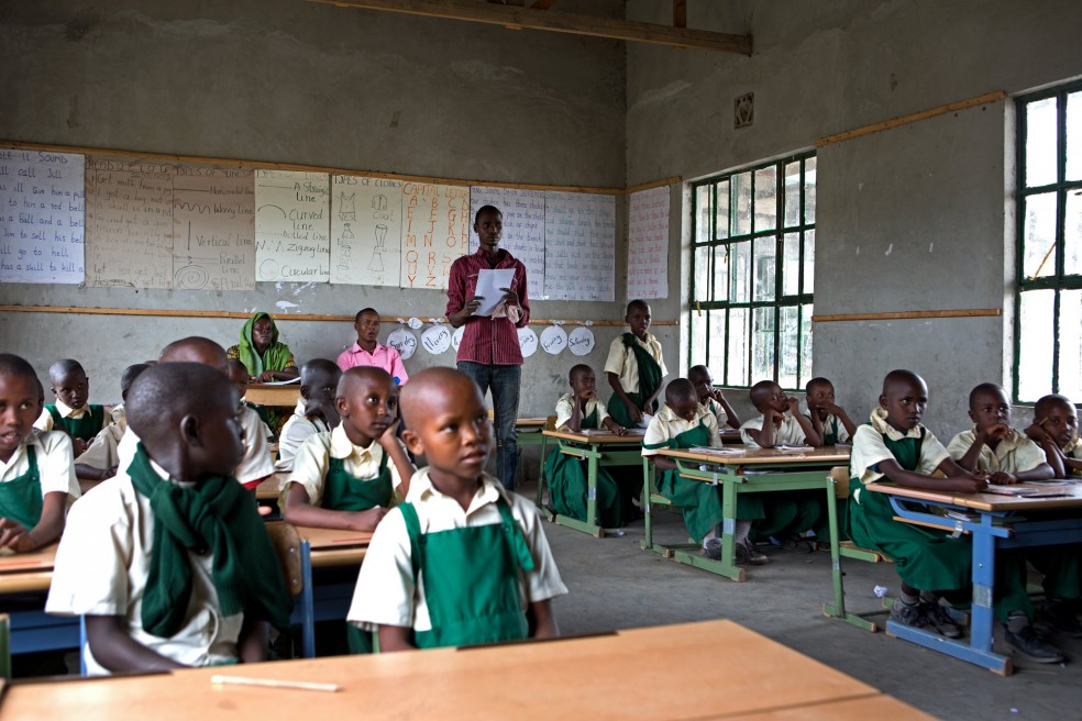 Visit to a Maasai school in Tanzania