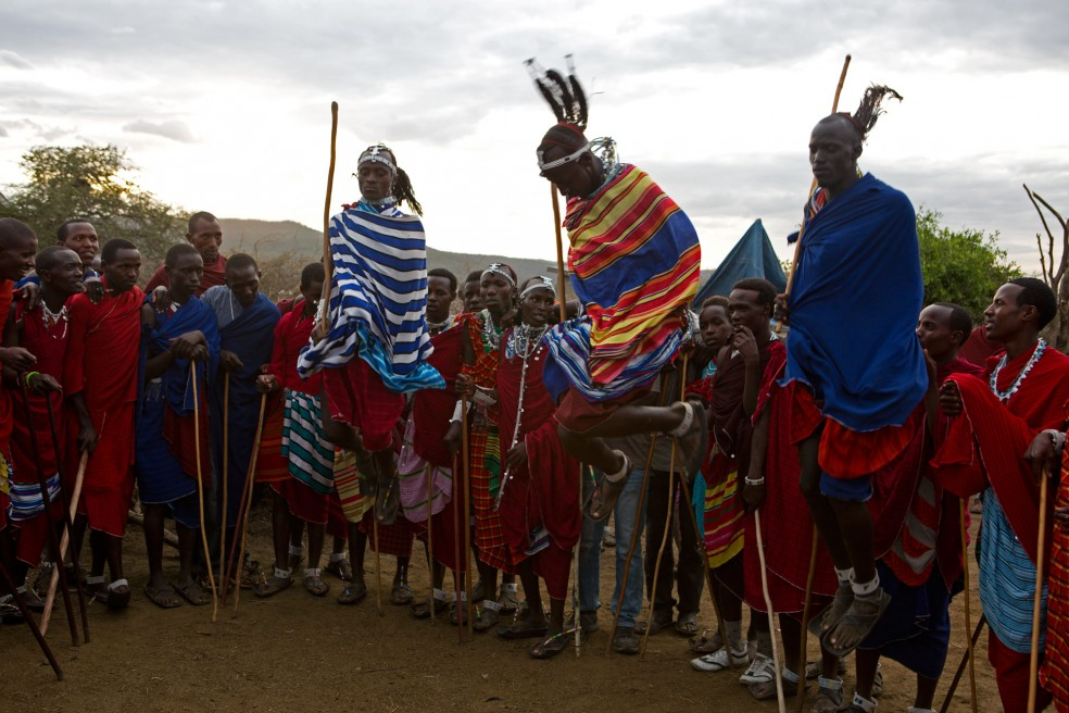 From the everyday life of the Maasai in Tanzania