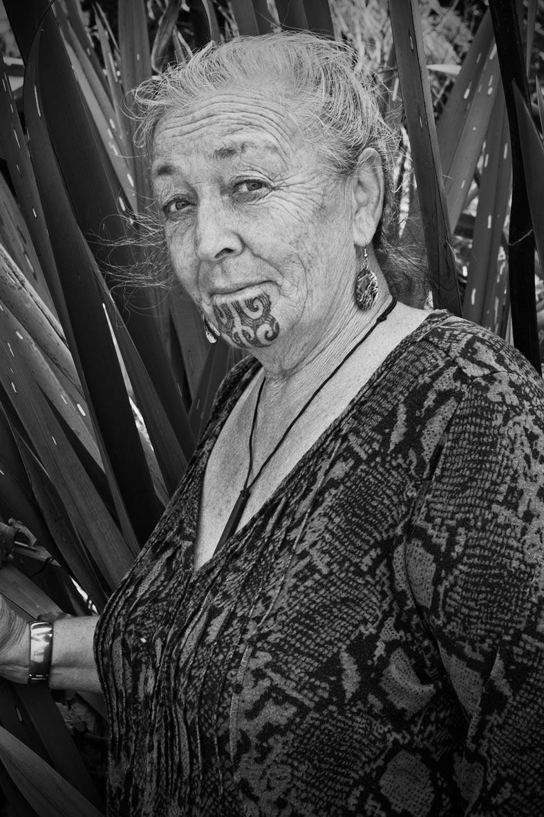 Maori woman, Waiheke Island/New Zealand
