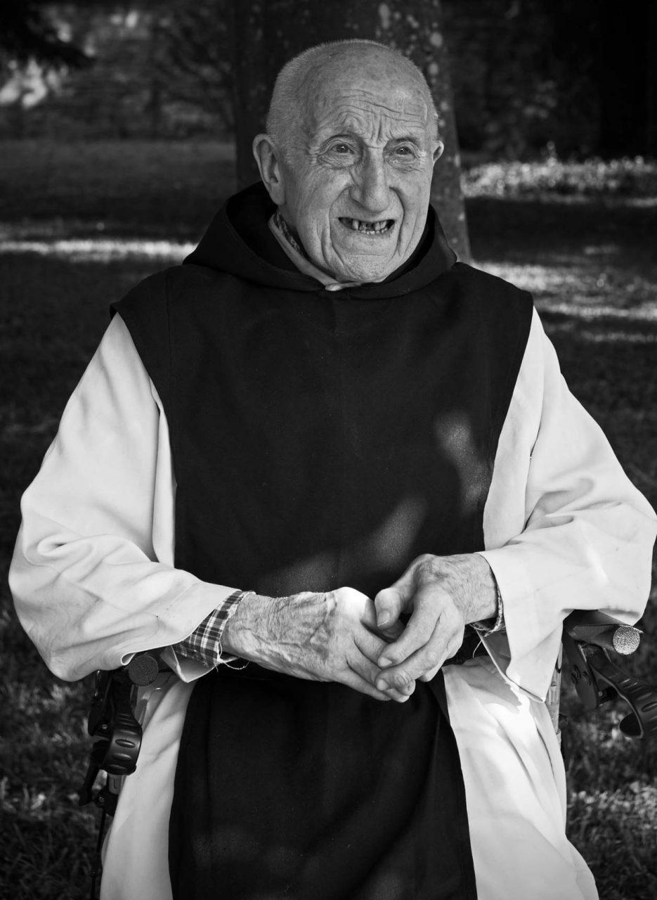 Brother Ceril, Abbaye Notre Dame de Citeaux, Burgundy