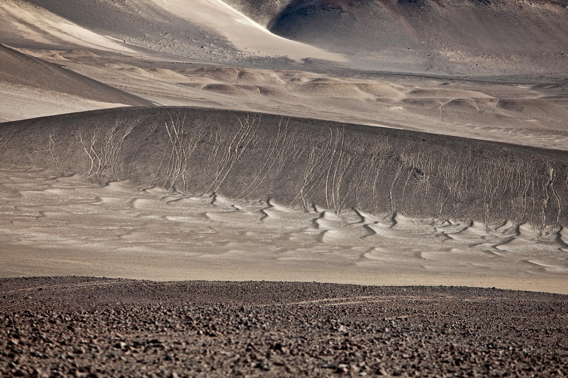 La Puna (high desert) in  Argentina