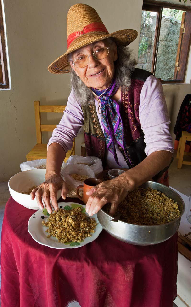 Abuela Rosa und ihr super-Müsli