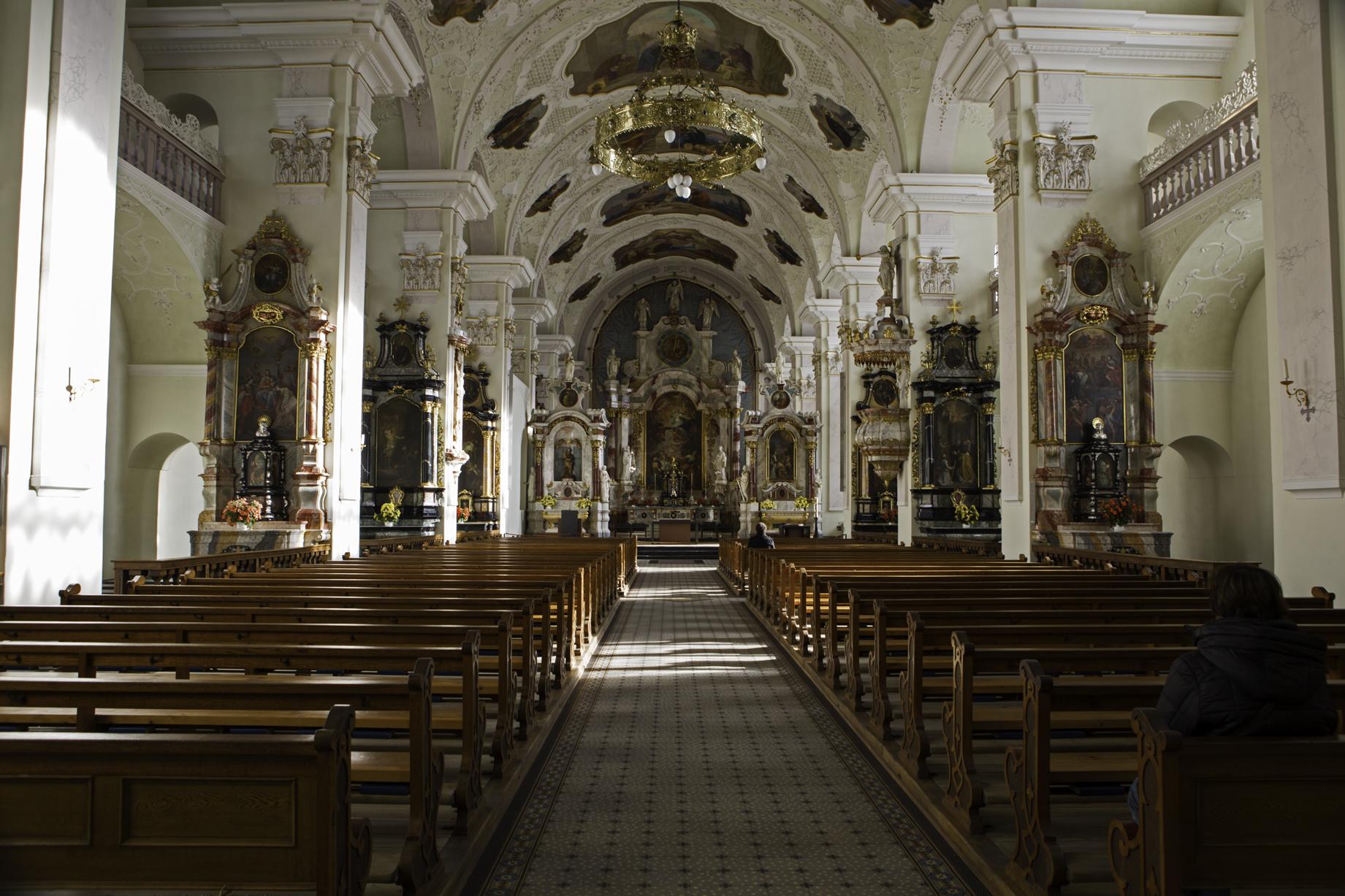 Benedektinerabtei Kloster Engelberg/Switzerland (12th century)