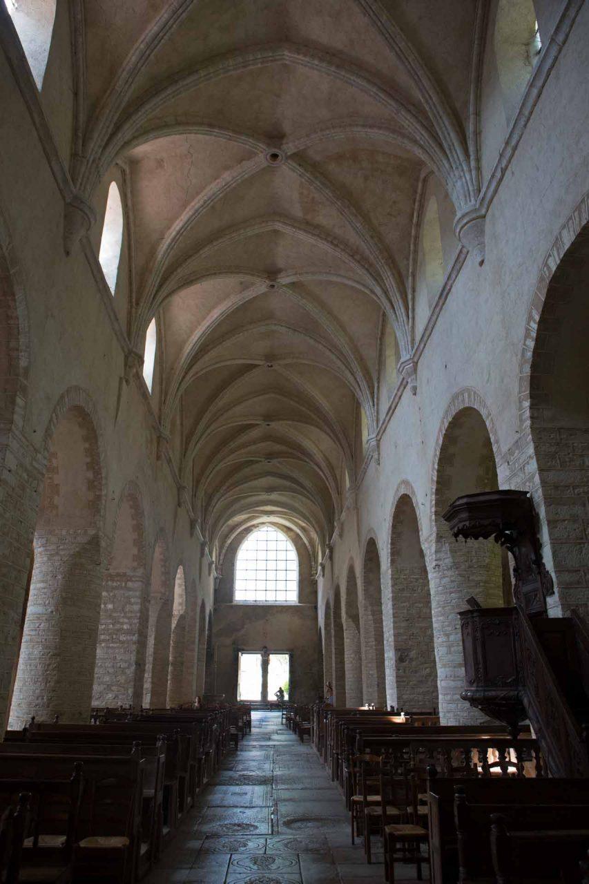 Abbaye Saint-Pierre, Baume les Messieurs/France (9th century)
